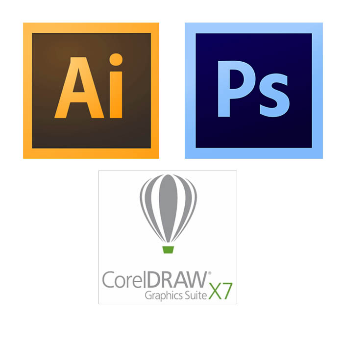 Adobe Illustrator CS6 & Corel Draw X7